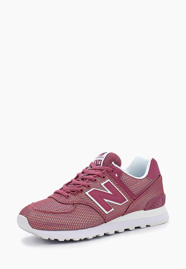 Женские кроссовки New Balance (Нью Баланс) WL574UBB