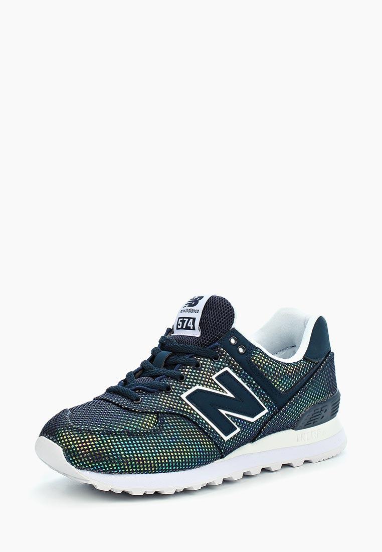 Женские кроссовки New Balance (Нью Баланс) WL574UBC