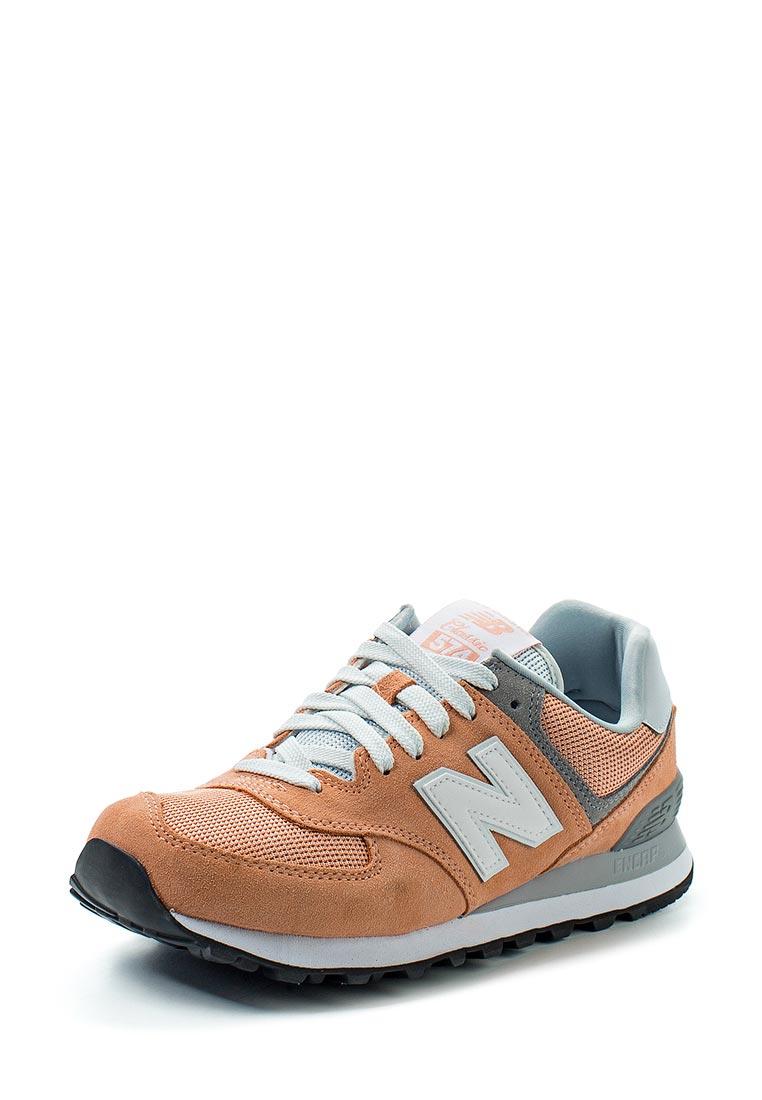 Женские кроссовки New Balance (Нью Баланс) WL574CB