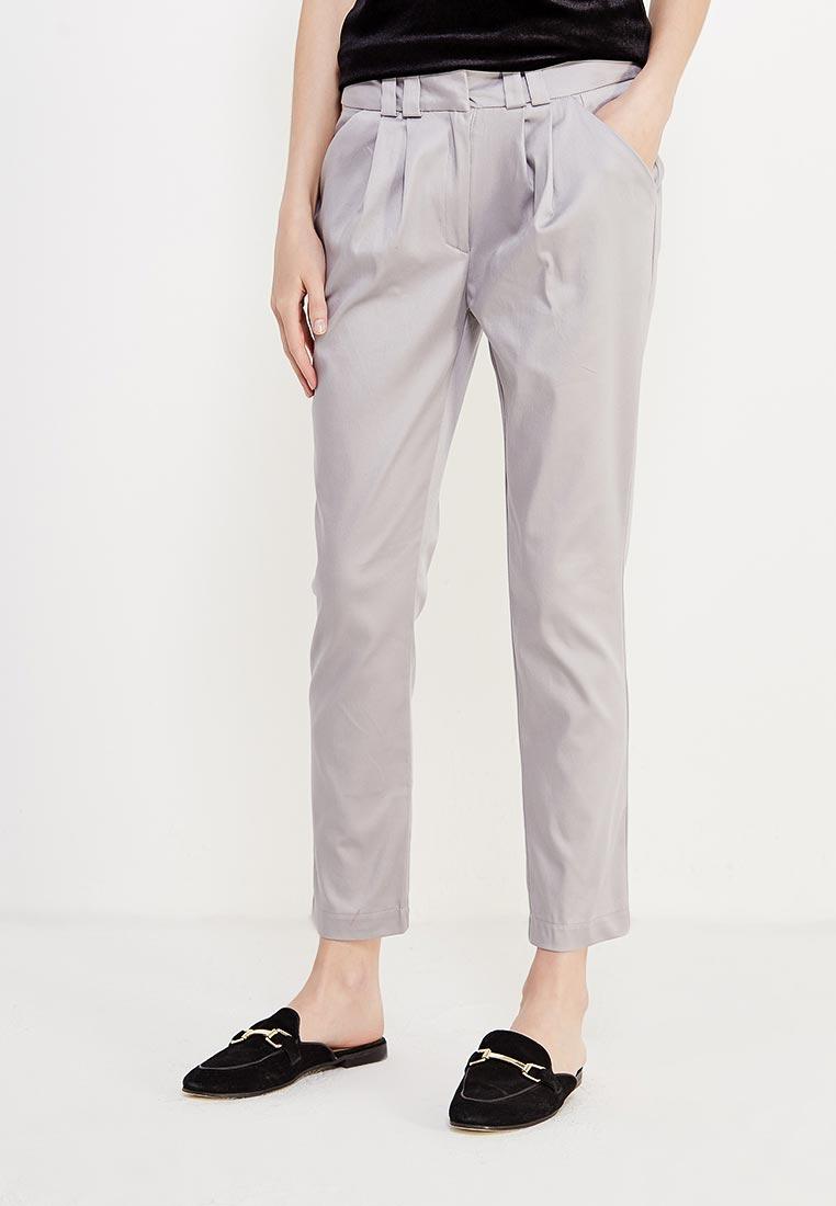 Женские зауженные брюки Nife sd01_pearl grey