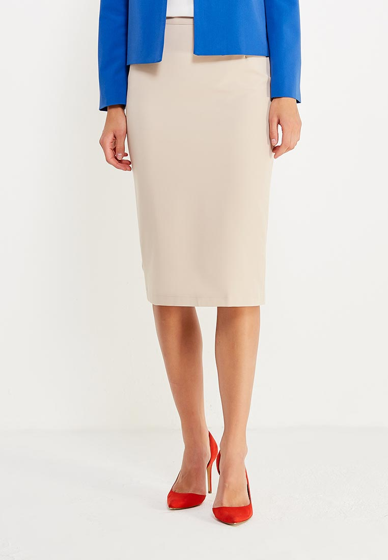 Узкая юбка Nife sp13_beige