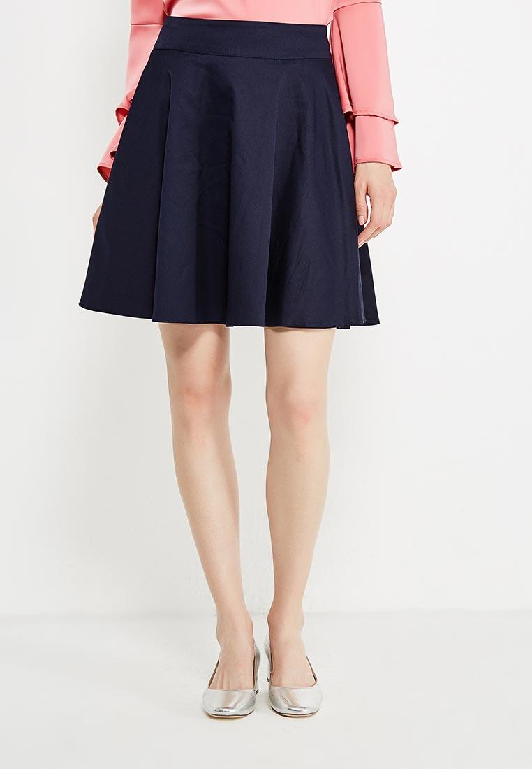 Широкая юбка Nife sp18_darkblue