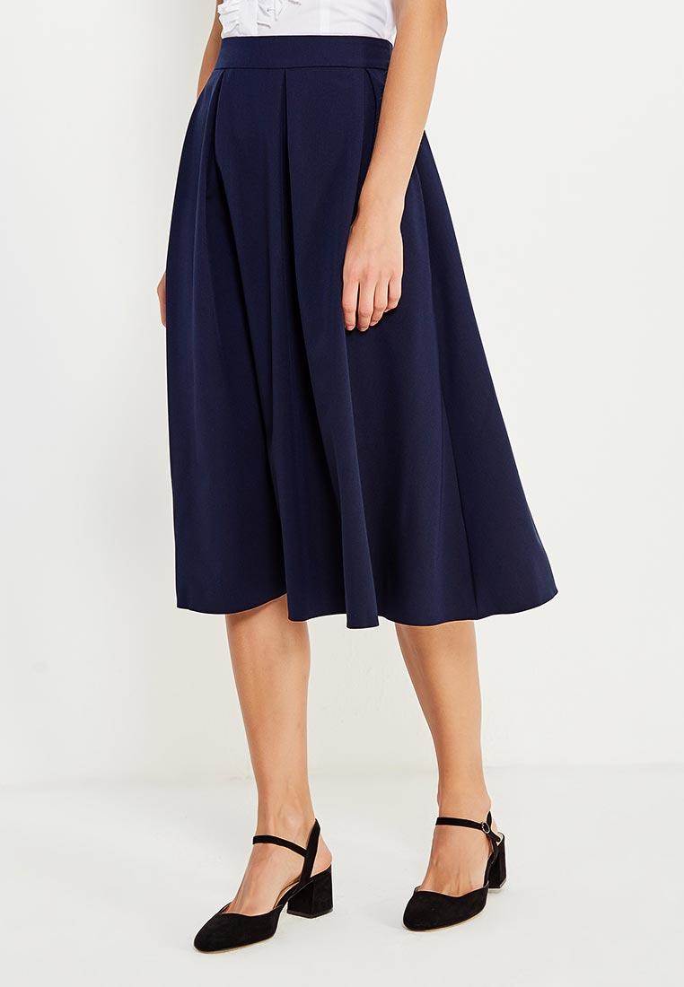 Широкая юбка Nife SP27dark blue