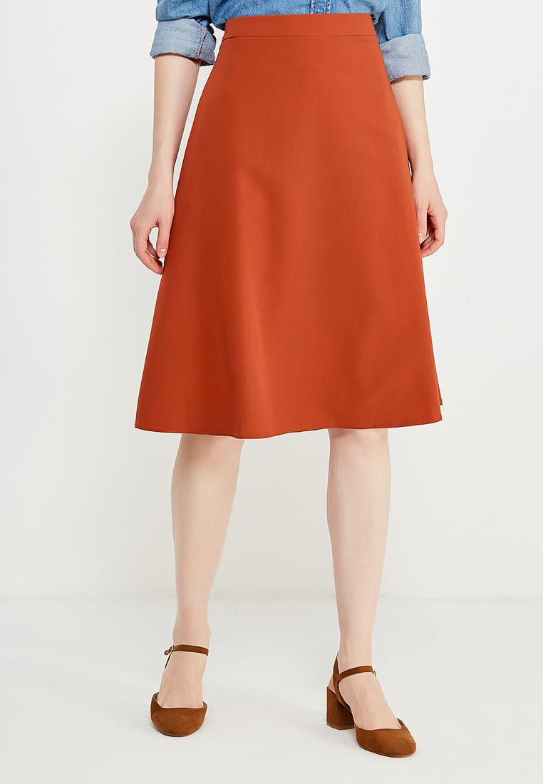 Широкая юбка Nife sp30_ginger
