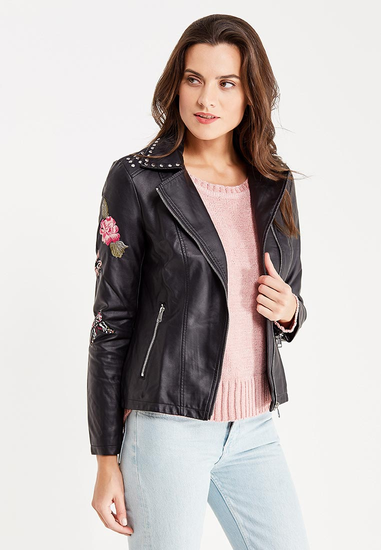 Кожаная куртка Nice & Chic 8206582