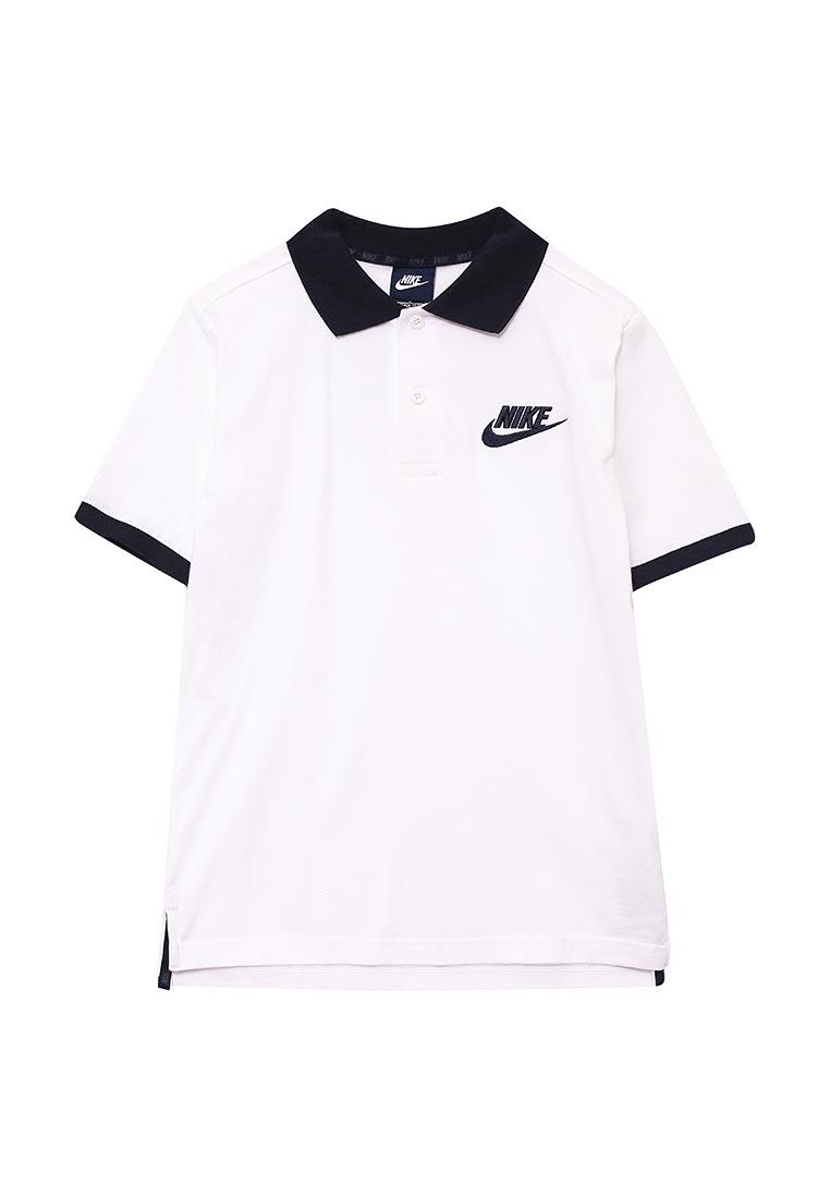 Поло для мальчиков Nike (Найк) 826437-100