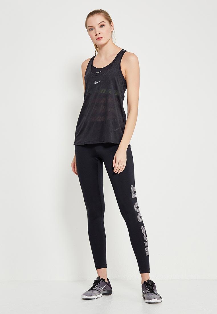 Спортивная майка Nike (Найк) 898249-010: изображение 2