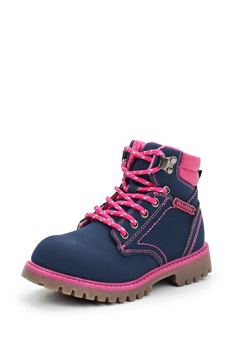 Ботинки для девочек Obba (Обба) 120816012