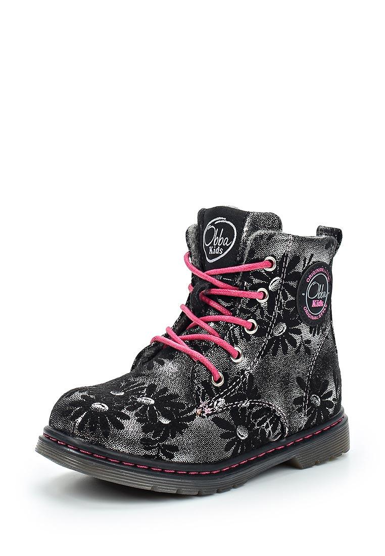Ботинки для девочек Obba (Обба) 120816031