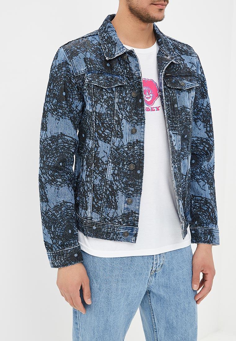 Джинсовая куртка Obey 121800319