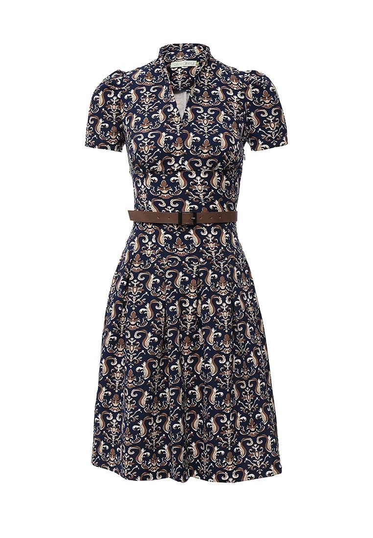 Платье-миди Olivegrey Pl000236L(becky)