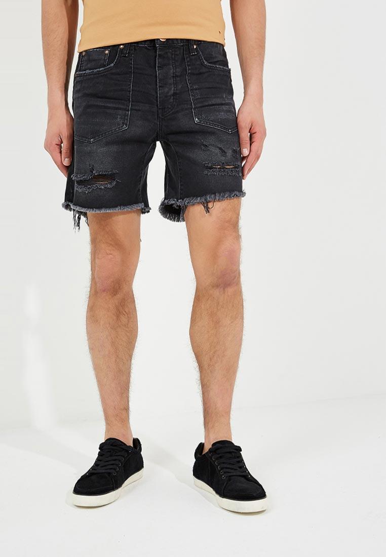 Мужские джинсовые шорты One Teaspoon (Вантиспун) 19824C