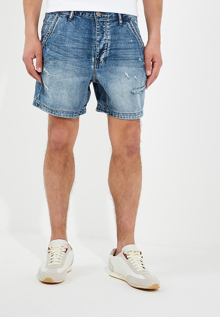 Мужские джинсовые шорты One Teaspoon (Вантиспун) 19832A