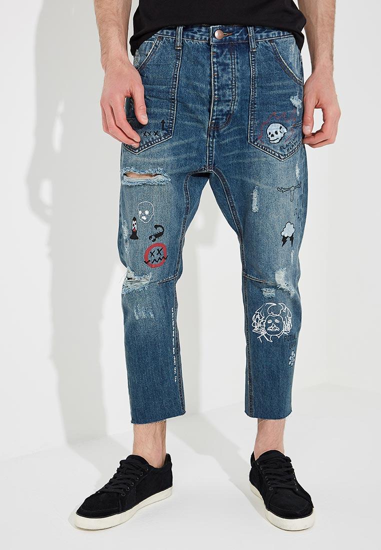 Зауженные джинсы One Teaspoon (Вантиспун) 20451