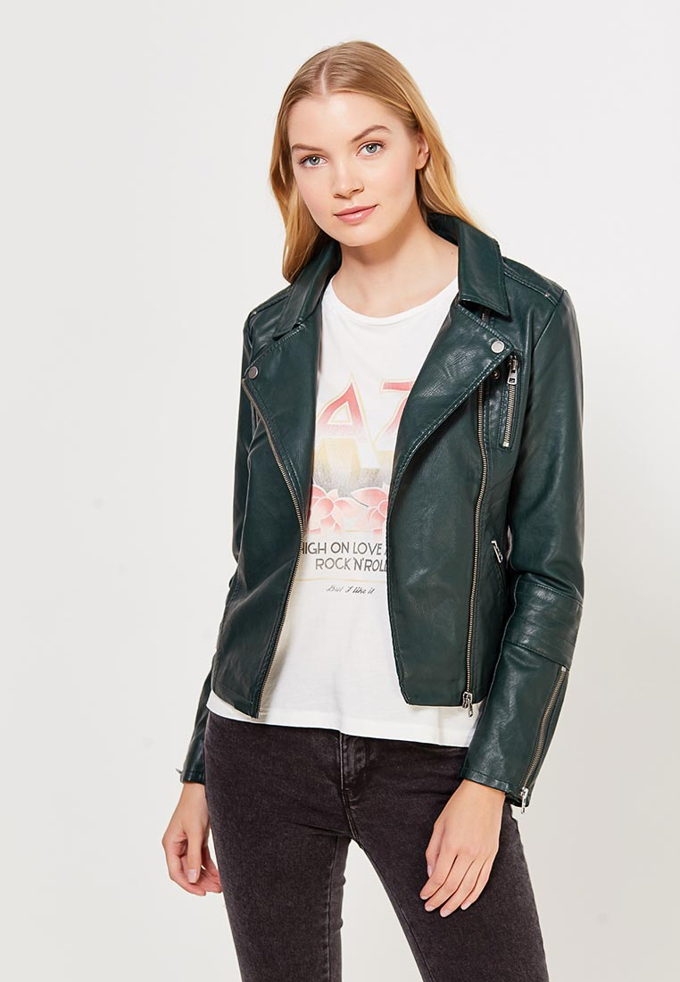 Кожаная куртка Only (Онли) 15136018