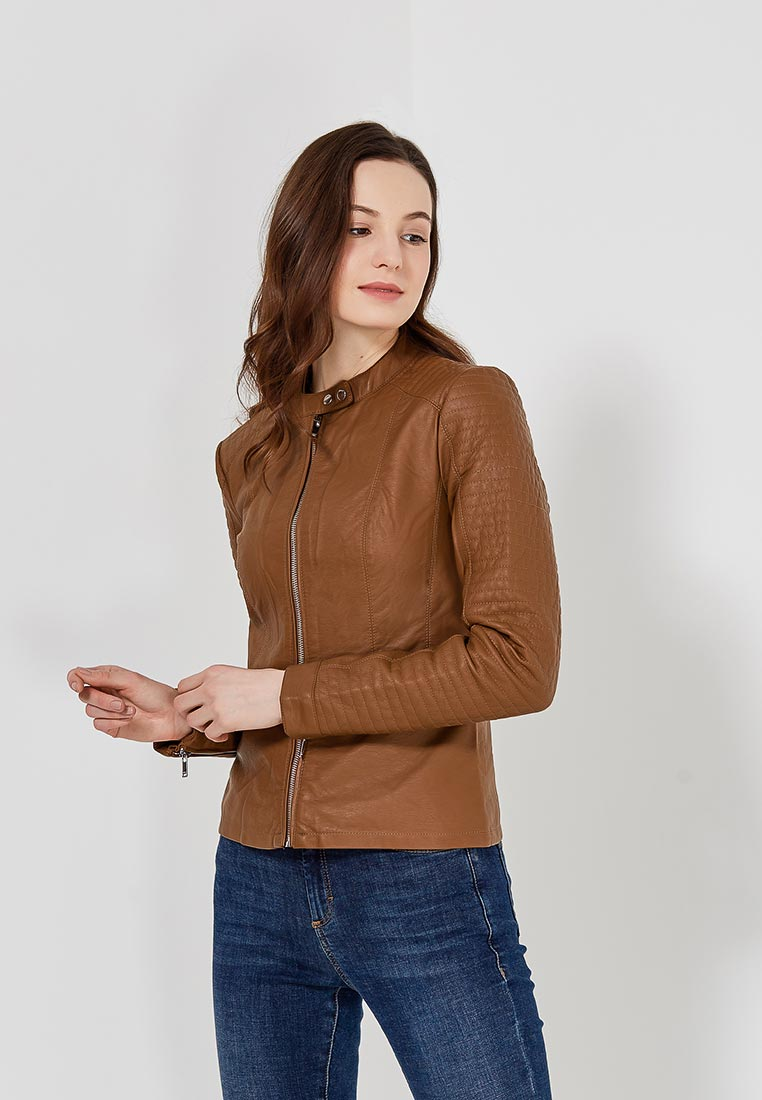 Кожаная куртка Only (Онли) 15149303