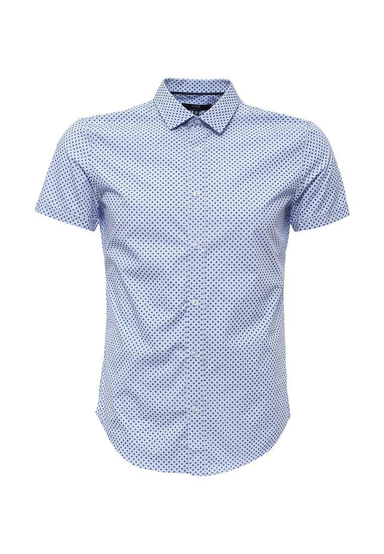 Рубашка с коротким рукавом oodji 3L210029M/19370N/7075G