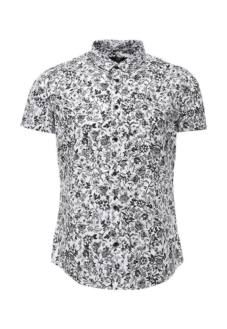 Рубашка с коротким рукавом oodji (Оджи) 3L410076M/19370N/1029F