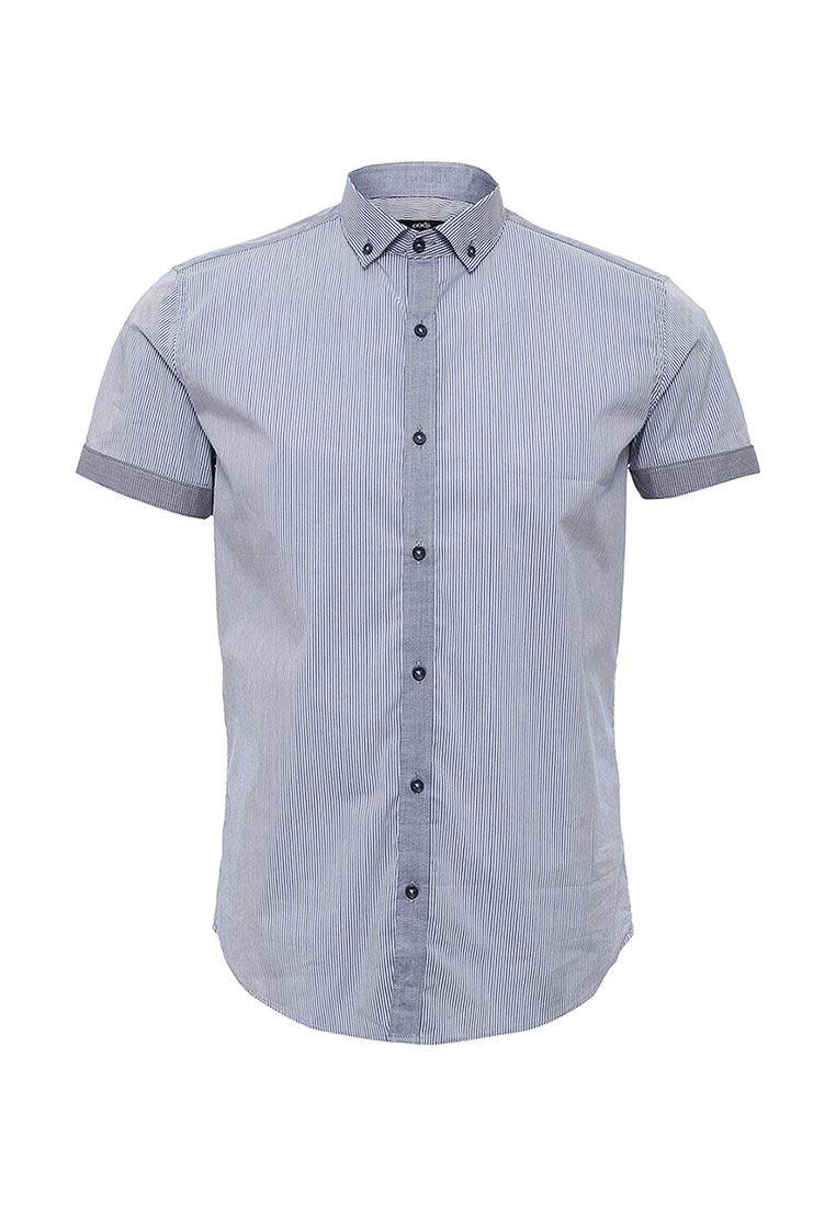 Рубашка с коротким рукавом oodji (Оджи) 3L410017Q/39775N/7410O