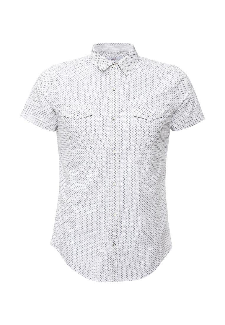 Рубашка с коротким рукавом oodji (Оджи) 3L410044M/39312N/1075G