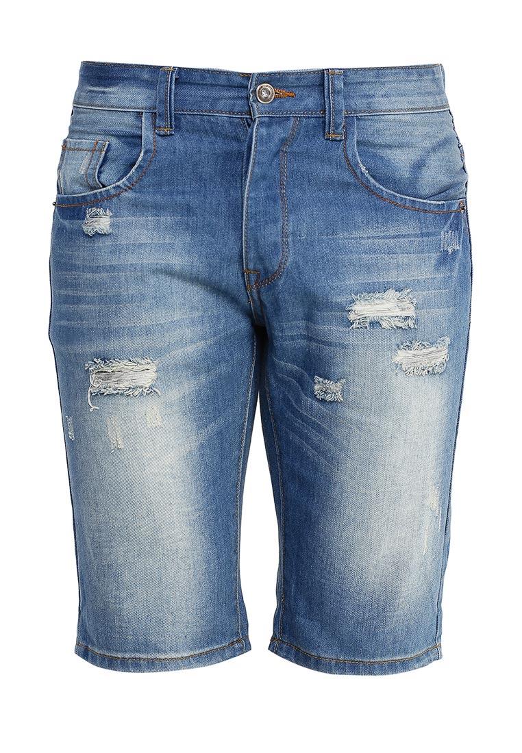 Мужские джинсовые шорты oodji (Оджи) 6L210013M/39601N/7500W