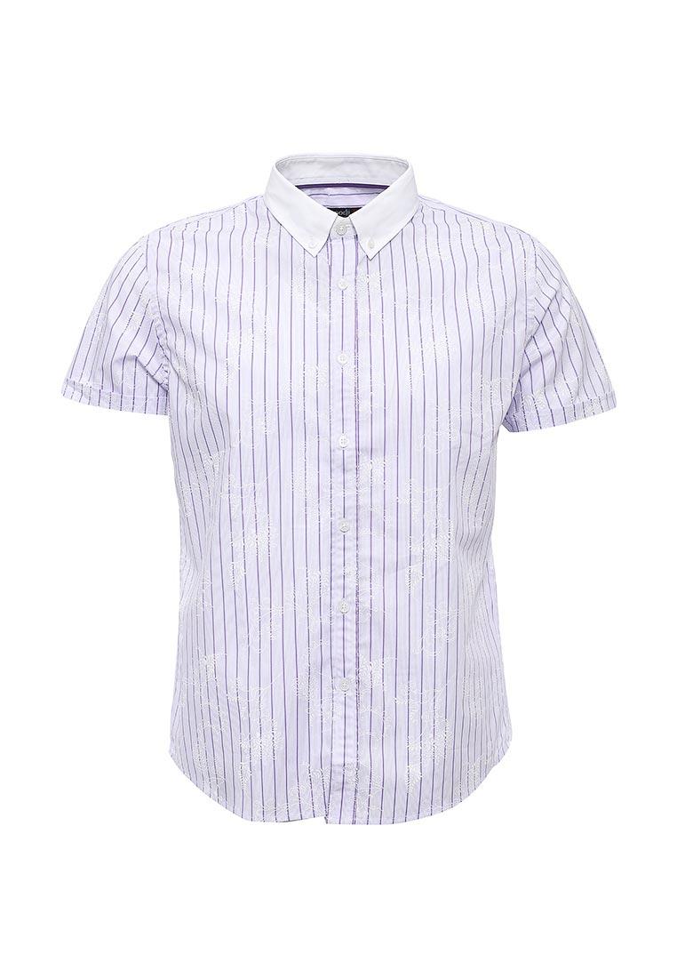 Рубашка с коротким рукавом oodji (Оджи) 3L210005M/19370N/8010F