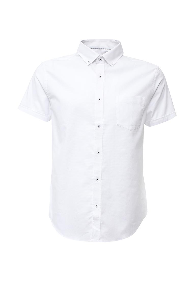 Рубашка с коротким рукавом oodji (Оджи) 3B210007M/34246N/1000N