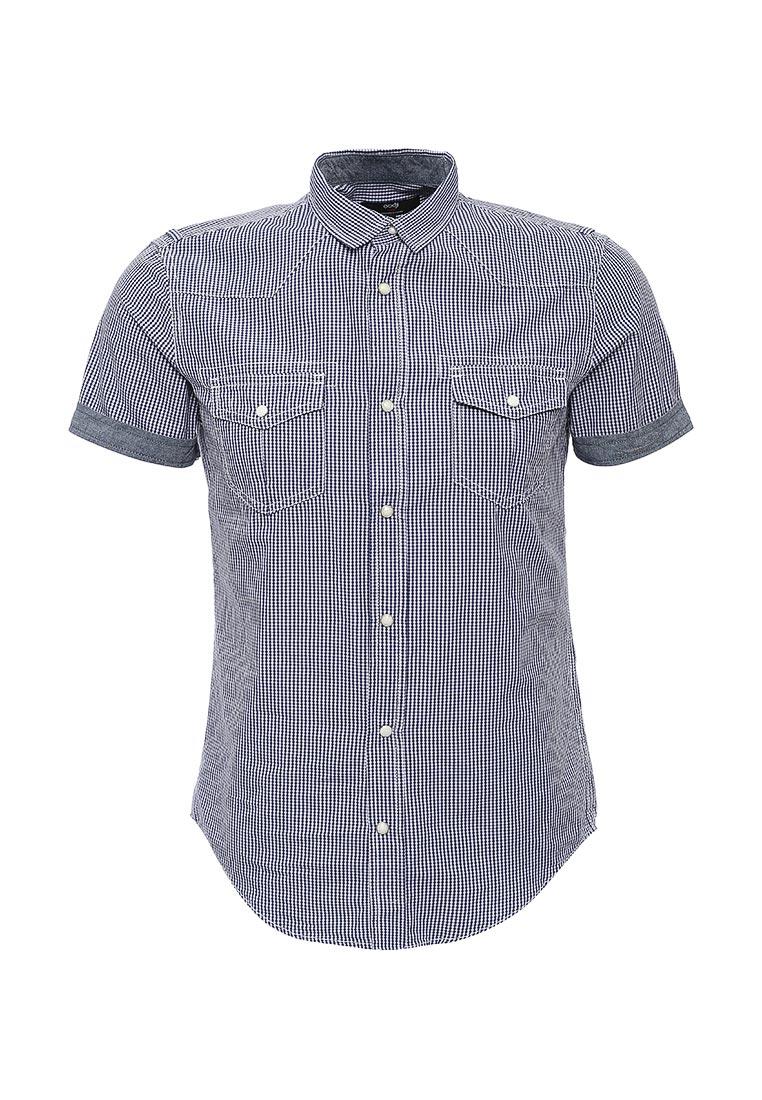 Рубашка с коротким рукавом oodji (Оджи) 3L410072M/44182N/1075C
