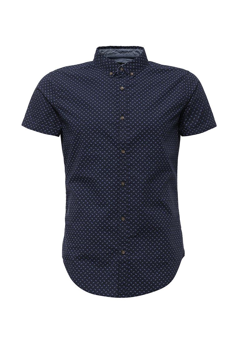 Рубашка с коротким рукавом oodji (Оджи) 3L410084M/39312N/7875F