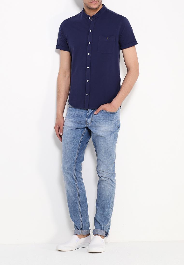 Рубашка с коротким рукавом oodji (Оджи) 5L412220M/44130N/7900N: изображение 2
