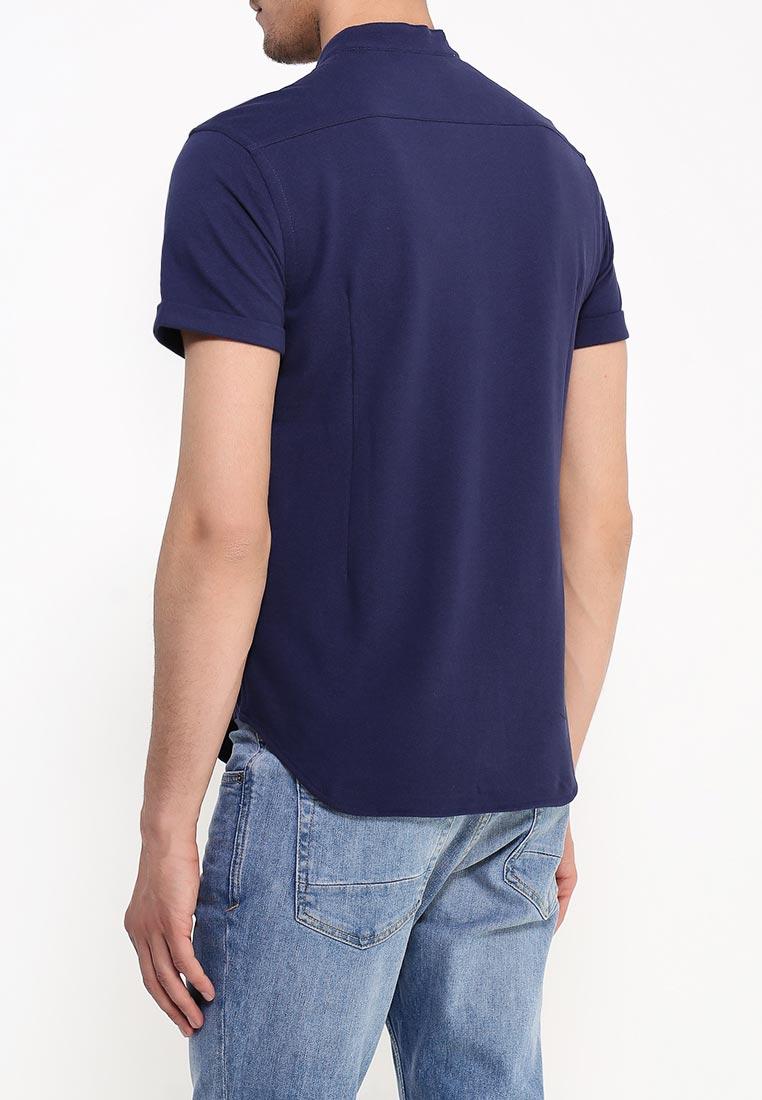 Рубашка с коротким рукавом oodji (Оджи) 5L412220M/44130N/7900N: изображение 4