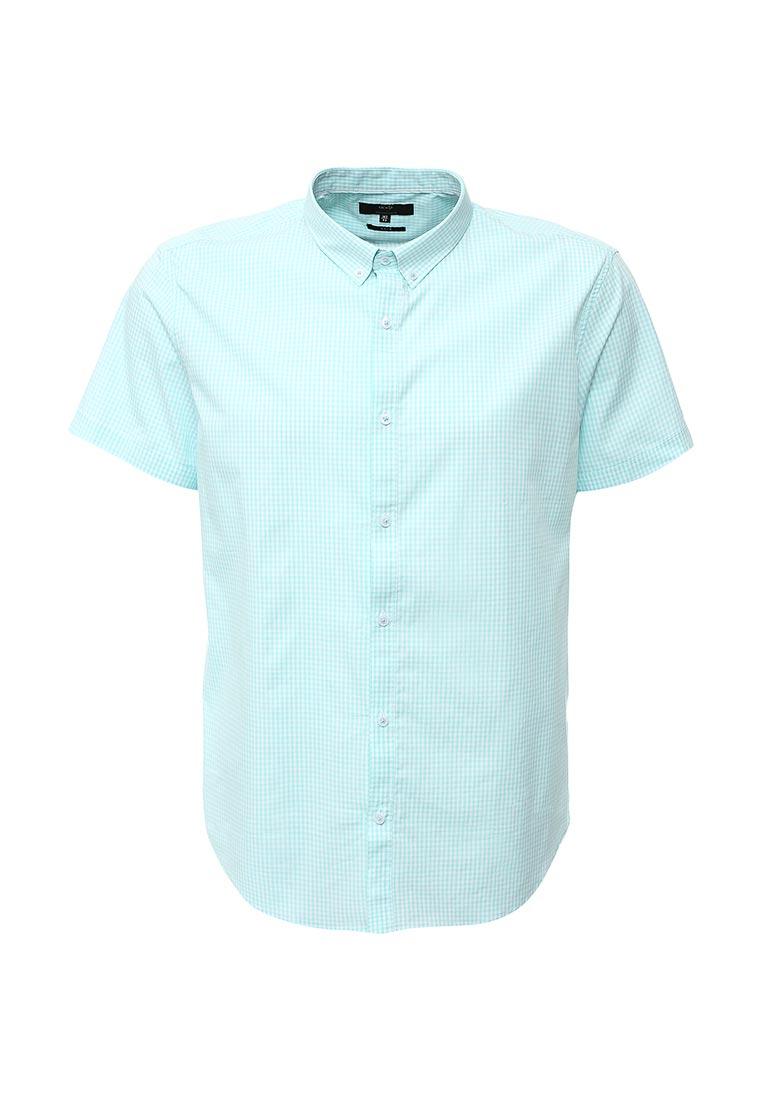 Рубашка с коротким рукавом oodji (Оджи) 3L210030M/44192N/106CC