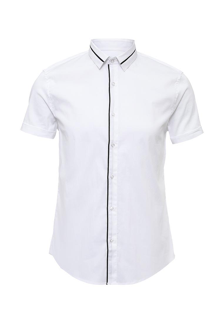 Рубашка с коротким рукавом oodji (Оджи) 3L240004M/34188N/1029B
