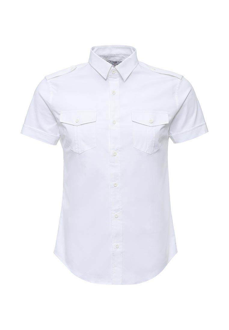 Рубашка с коротким рукавом oodji 3L410094M/23453N/1000N
