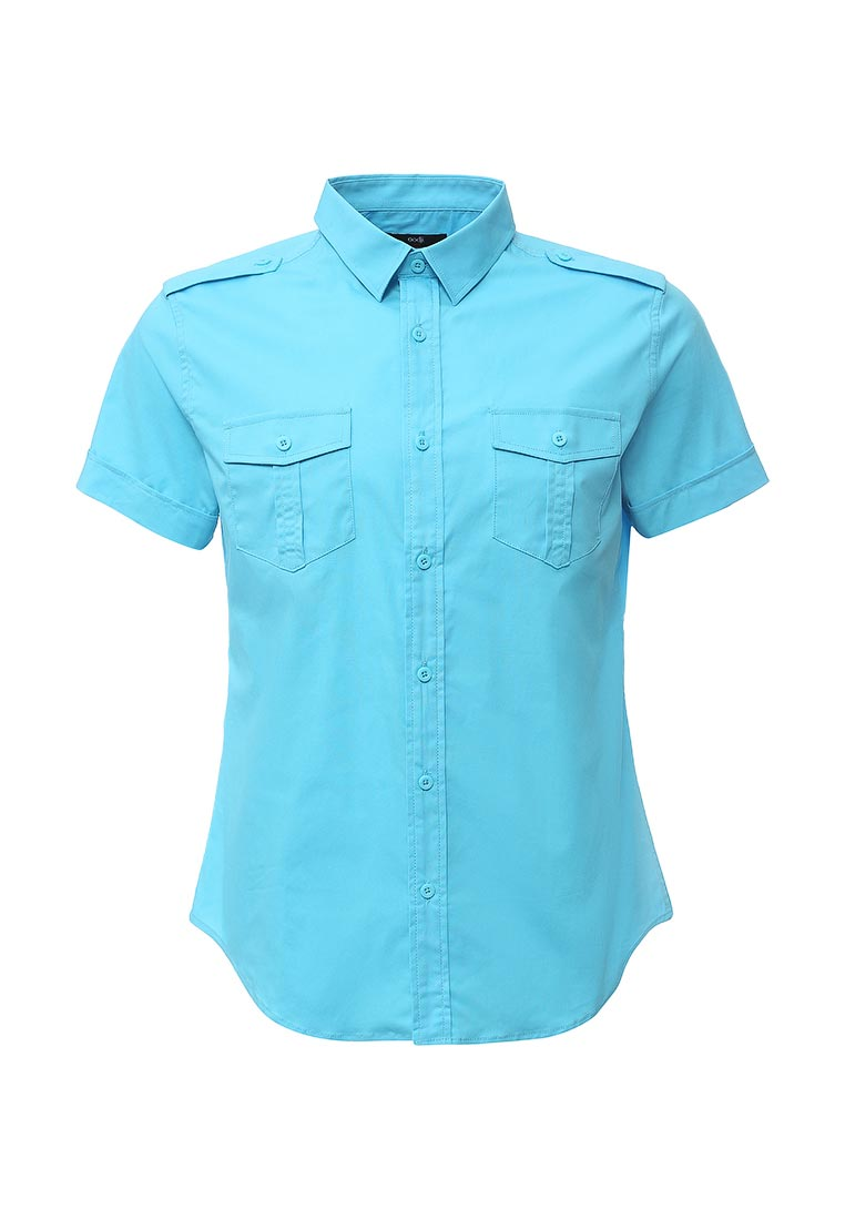 Рубашка с коротким рукавом oodji (Оджи) 3L410094M/23453N/7300N
