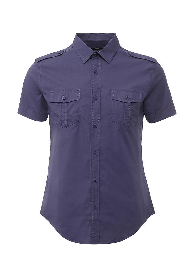 Рубашка с коротким рукавом oodji (Оджи) 3L410094M/23453N/7500N
