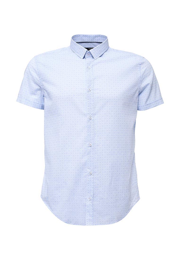 Рубашка с коротким рукавом oodji (Оджи) 3L210034M/24967N/1070G