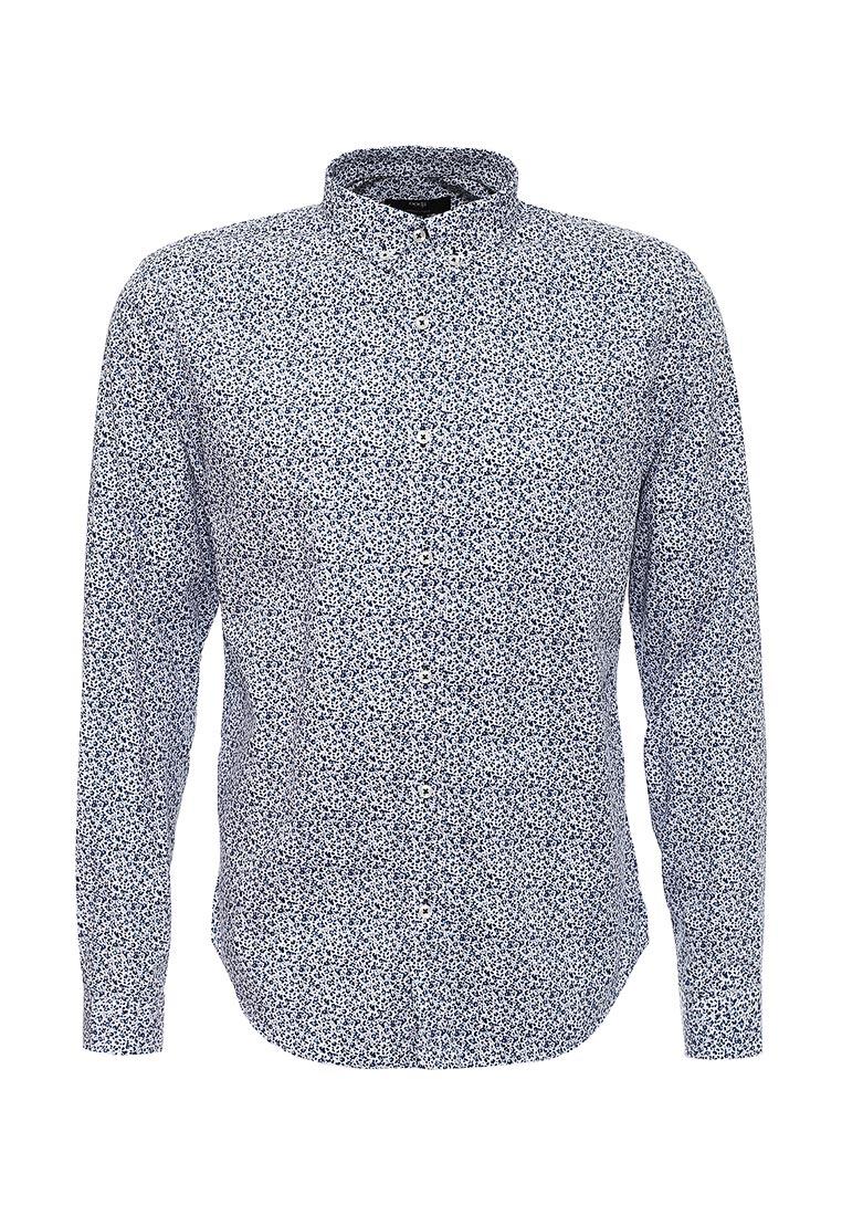 Рубашка с длинным рукавом oodji (Оджи) 3L110125M/19370N/1079F