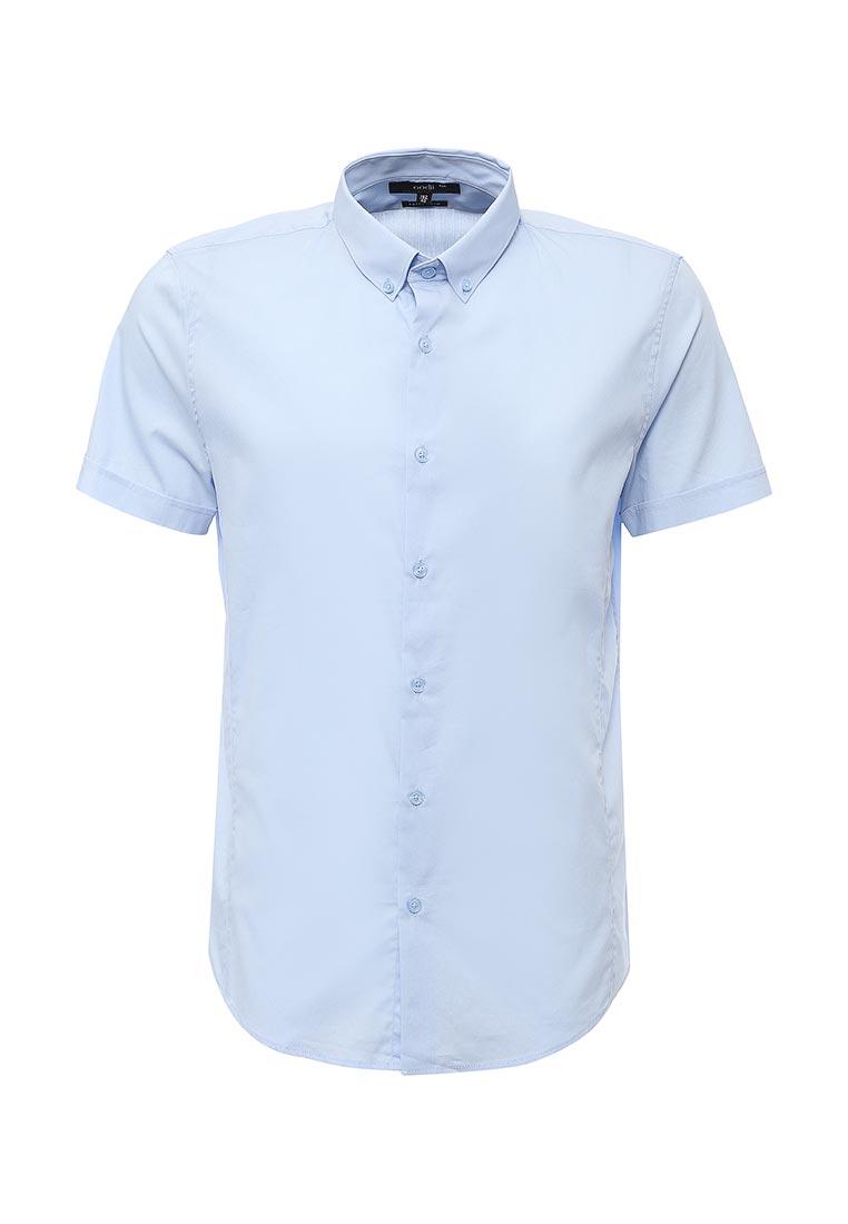 Рубашка с коротким рукавом oodji 3B210004M/34956N/7000N