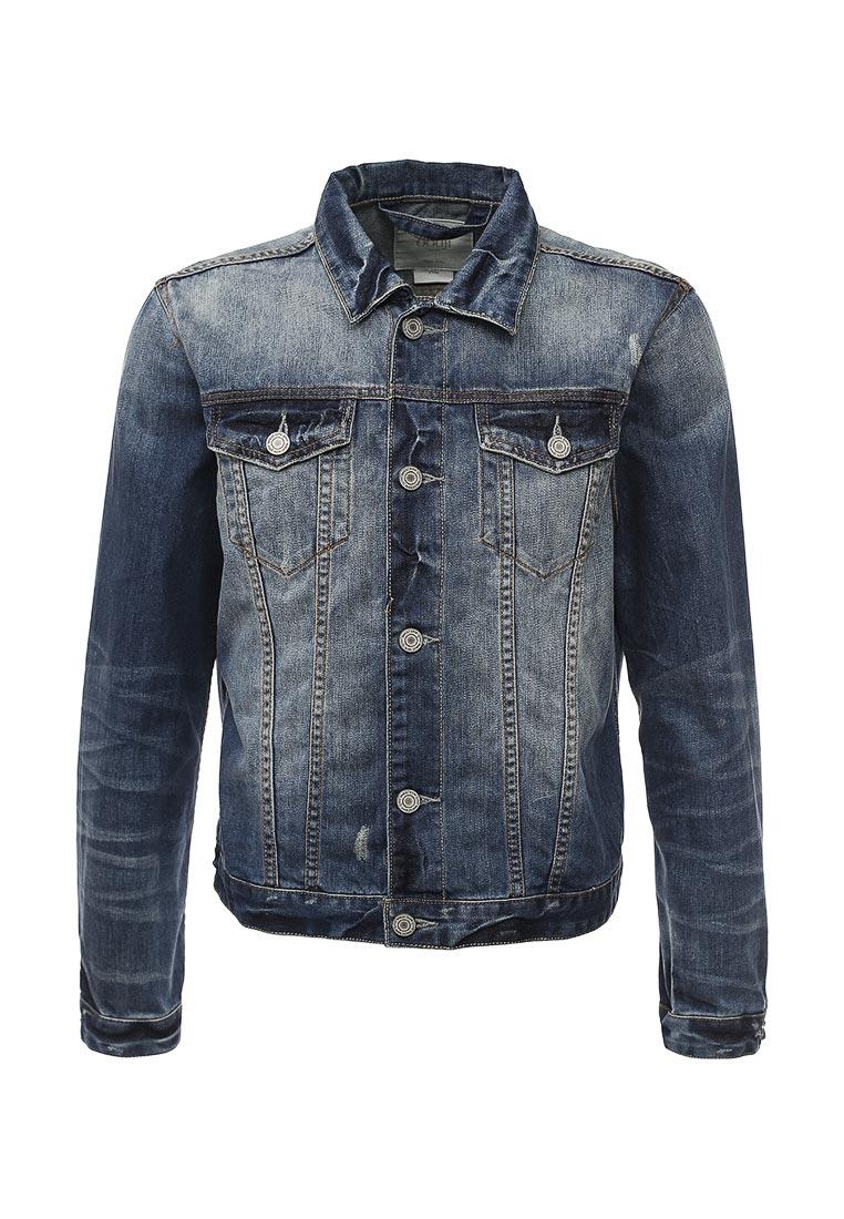 Джинсовая куртка oodji (Оджи) 6L300002M/34427N/7500W