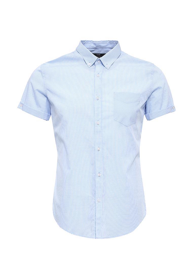Рубашка с коротким рукавом oodji (Оджи) 3L210020M/23454N/7010C