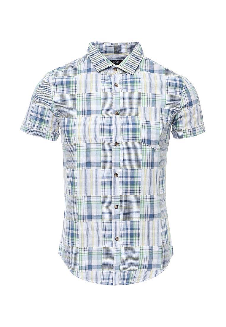 Рубашка с коротким рукавом oodji (Оджи) 3L410015Q/39594N/7550O