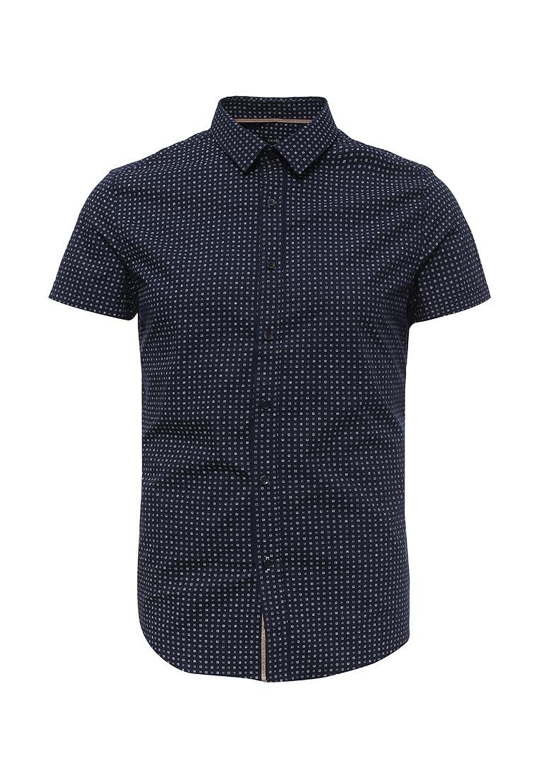 Рубашка с коротким рукавом oodji (Оджи) 3L210039M/44425N/7910G