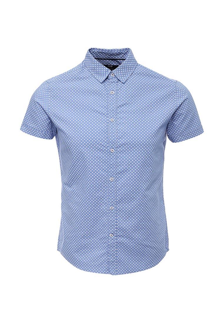 Рубашка с коротким рукавом oodji (Оджи) 3L410096M/46211N/7010G