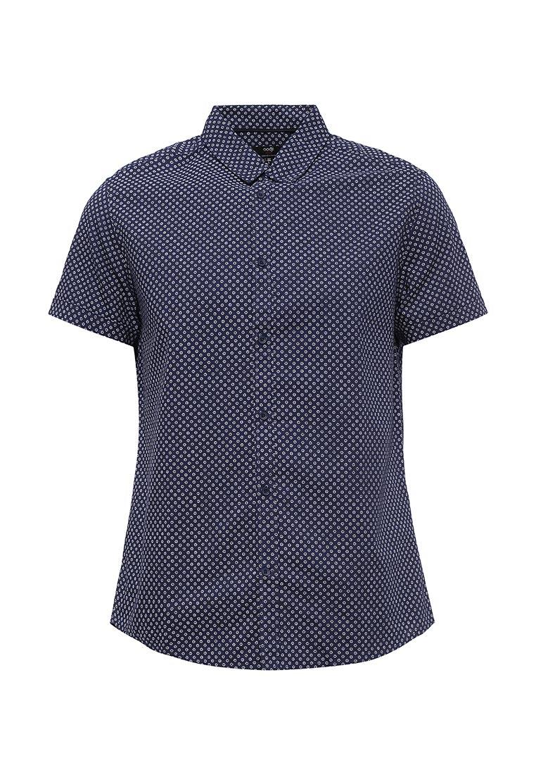 Рубашка с коротким рукавом oodji (Оджи) 3L410096M/46211N/7910G