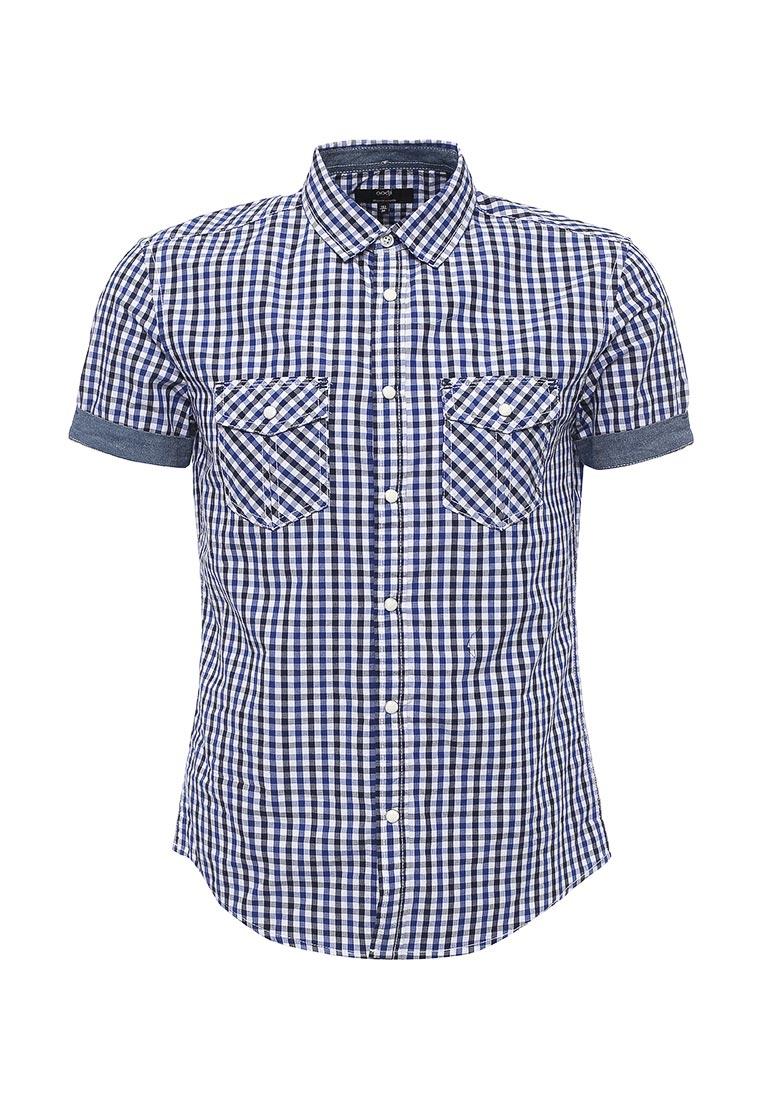 Рубашка с коротким рукавом oodji (Оджи) 3L410105M/34319N/1079C