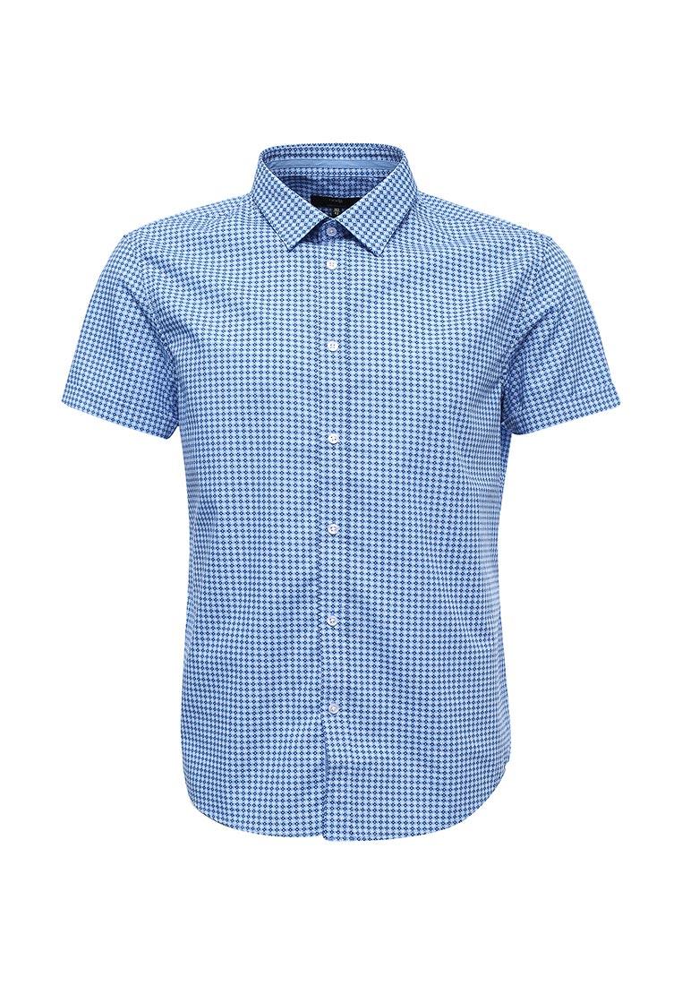 Рубашка с коротким рукавом oodji (Оджи) 3L210041M/19370N/7010G