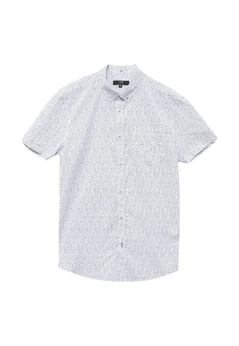 Рубашка с коротким рукавом oodji (Оджи) 3L410101M/39312N/1075G