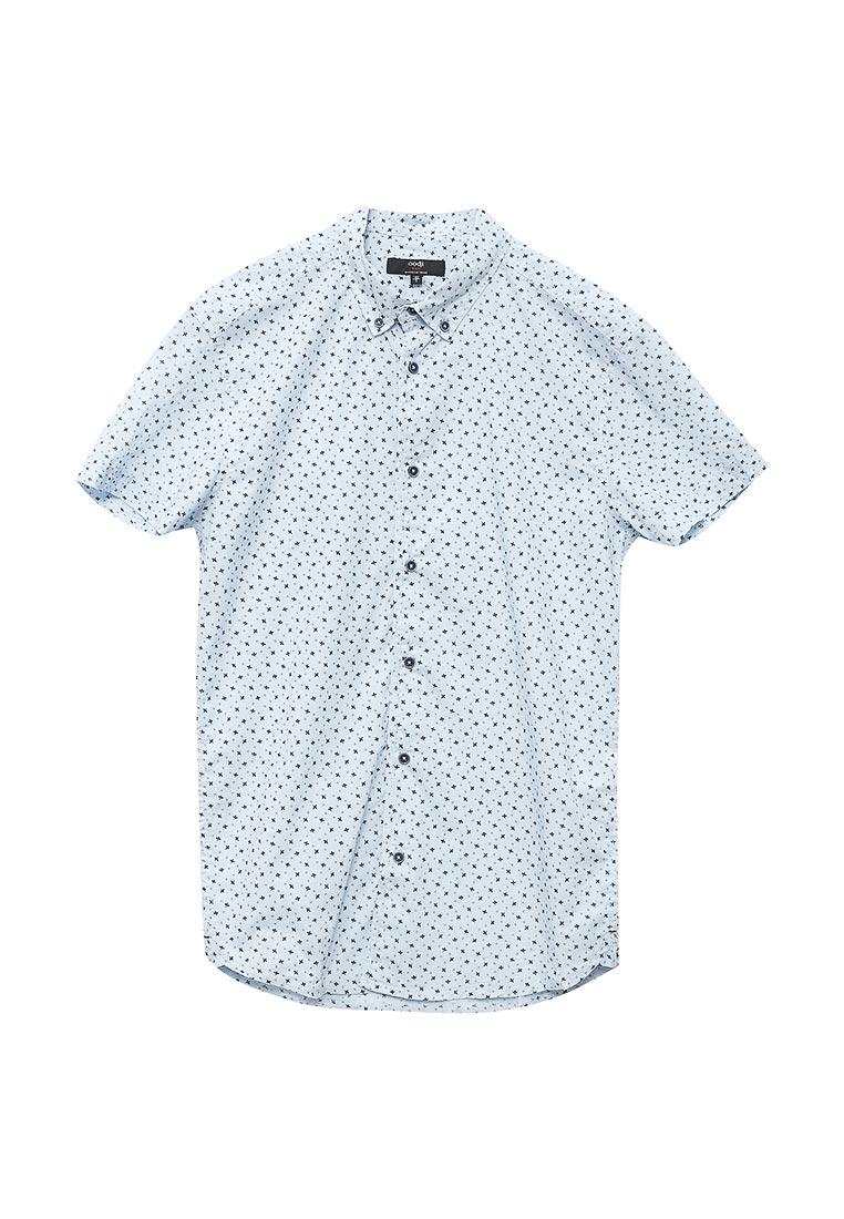 Рубашка с коротким рукавом oodji (Оджи) 3L410107M/39312N/7079G