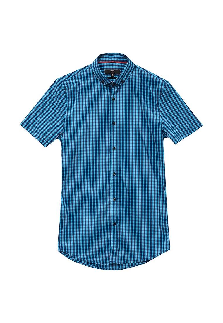 Рубашка с коротким рукавом oodji (Оджи) 3L240005M/39767N/7679C